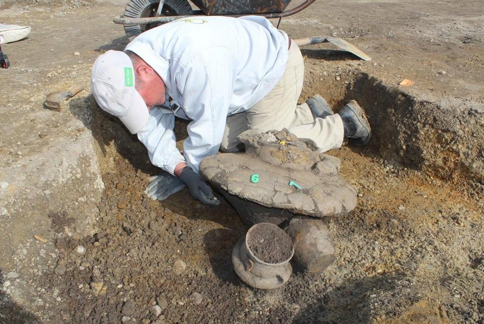 Háromezer éves temetőt tártak fel a régészek